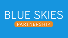 Blue Skies Partnership logo